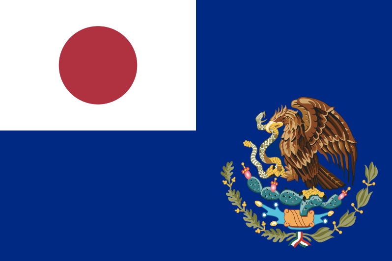 Japanese Mexico Flag By 3d4d On Deviantart
