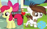 Apple Bloom x Pipsqueak (Smileverse)