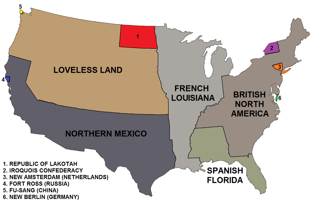 Divided States of America Wild Wild West