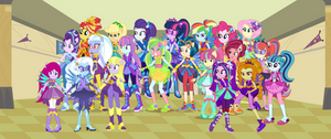 Equestria Girls: Harmony Defenders