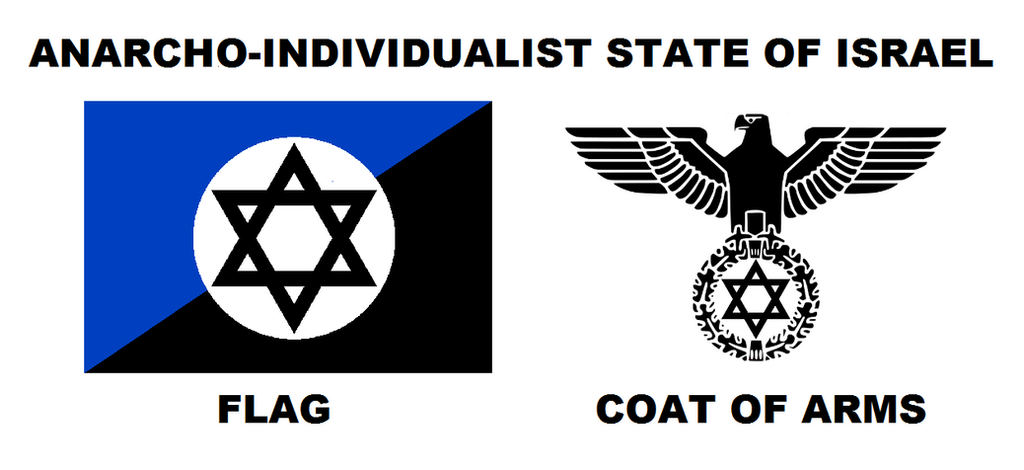 Anarcho-Individualist State of Israel by 3D4D