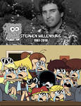 Loud Sisters crying for Stephen Hillenburg's Death