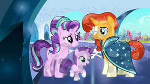 StarBurst Family (Crystal Version) by 3D4D
