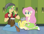 Fluttershy and her Secret Crush