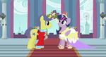 Twilight and Comet's Wedding (Royal Style)