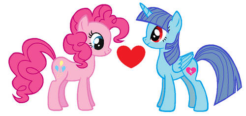 Pinkie Pie x Heart Mouse