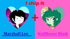 Crossover Ship: Marshall Lee x Wallflower Blush