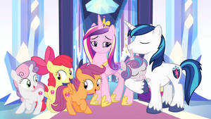 The Crusaders Visit The Crystal Empire