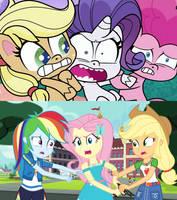 Pony Life vs Equestria Girls