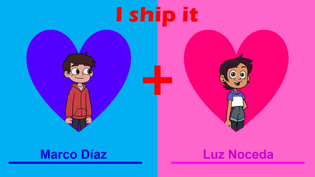 I Ship Marco with Luz