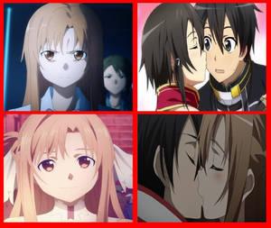 Asuna hates Kirinon and likes Kiriasu