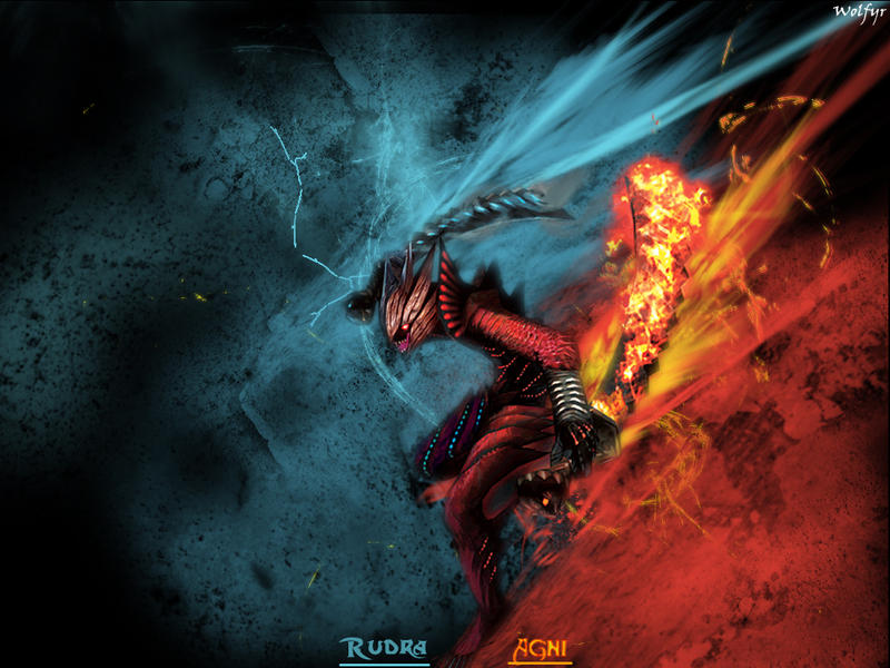 Agni-Rudra in Devil Trigger.. by Wolfyr