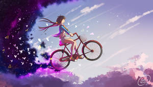 cycling in the clouds
