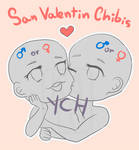 [CLOSED] YCH Chibis Couple auction