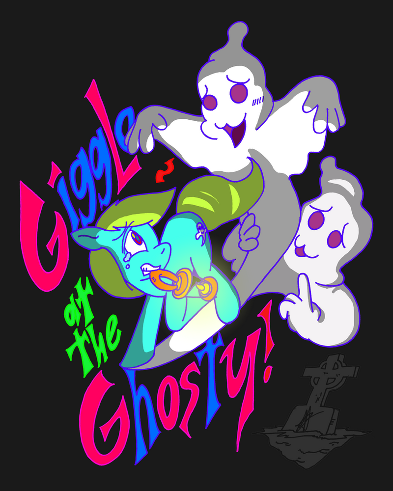 Giggle at the Ghosty by CopyPastePony