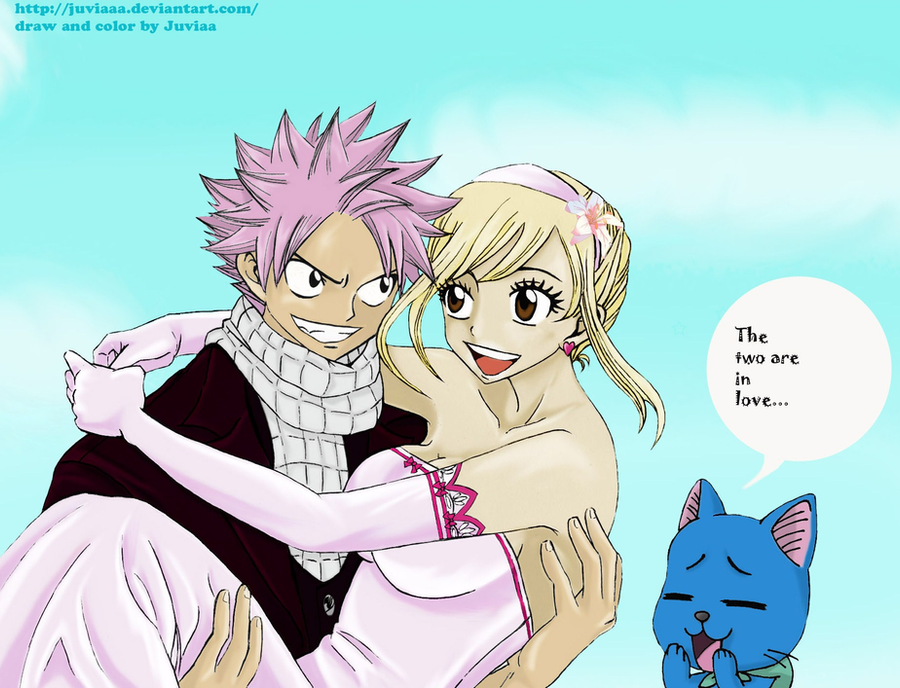 Natsu x Lucy (the wedding of fire and keys) by Juviaaa on ...