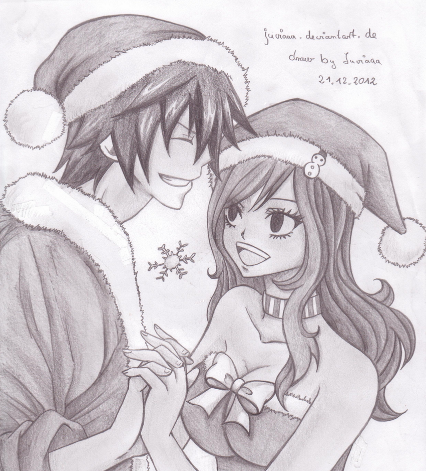 Gray x juvia CHRISTMAS by Juviaaa