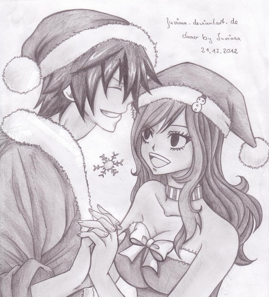 Gray x juvia CHRISTMAS by Juviaaa