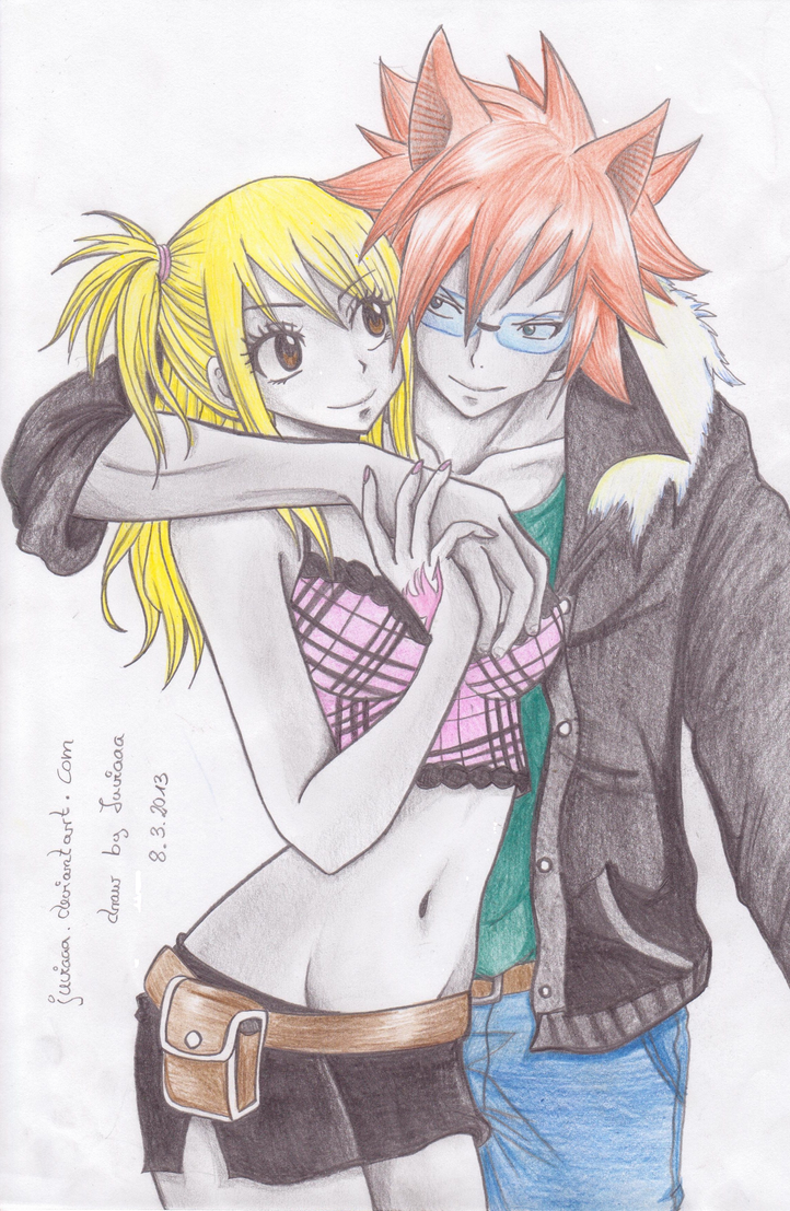 Lucy x Loke by JuviaaaFairy Tail Lucy And Loke Kiss