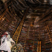 the library by yakkingyetis