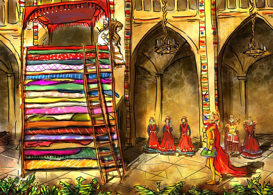princess and the pea bed. Princess And The Pea By Yakkingyetis Bed N