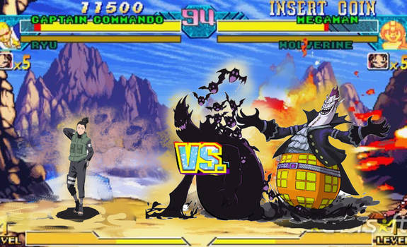 Shikamaru vs Gekko Moriah