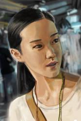 portrait study by yakkingyetis