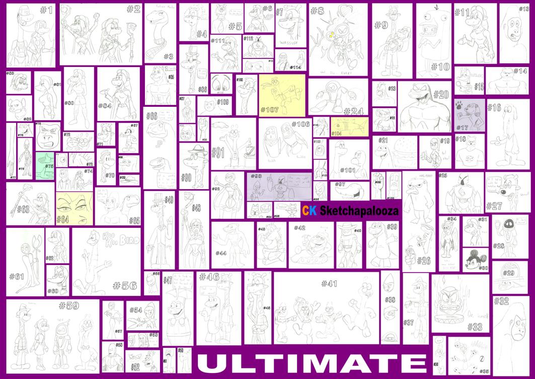 CK's Sketchapalooza ULTIMAtE by CKToonStudios