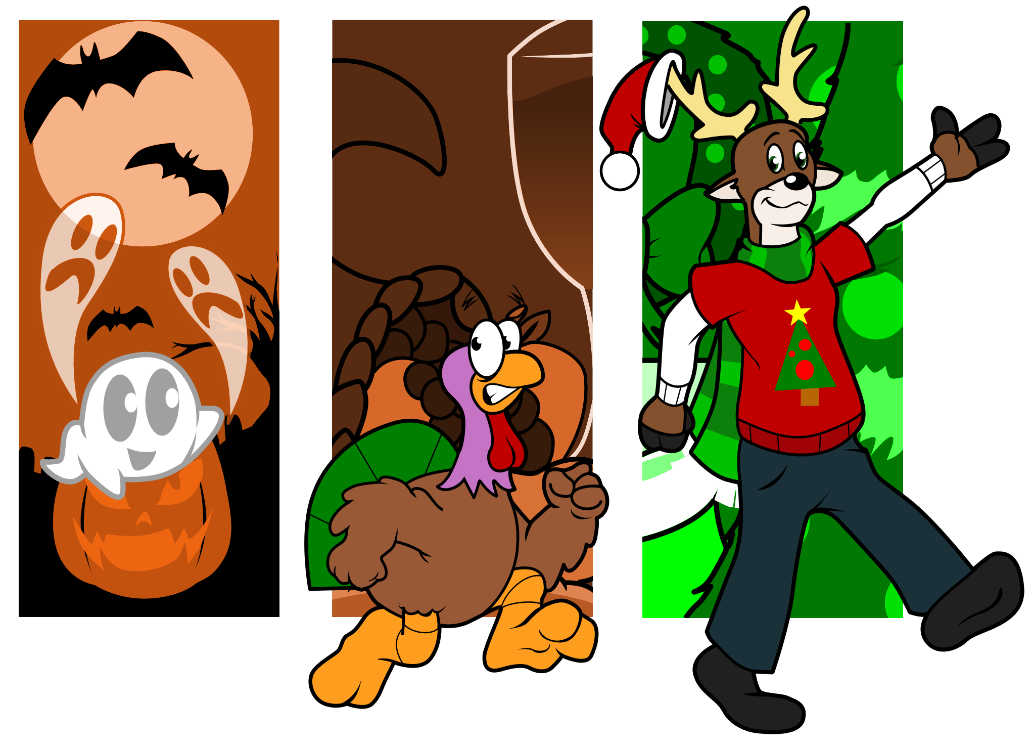 Holidays are Coming by CKToonStudios