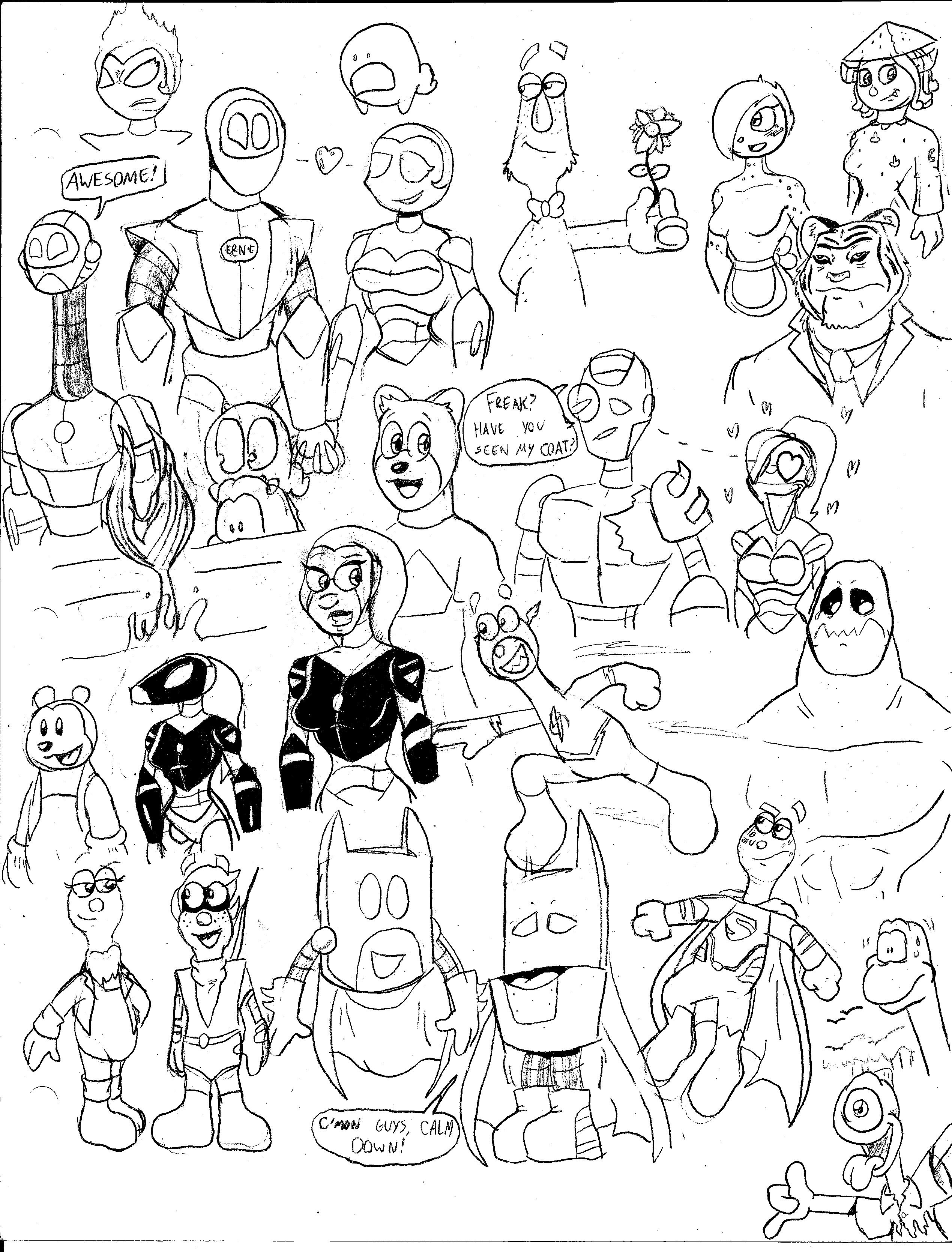 Sketch BOOM 2 by CKToonStudios