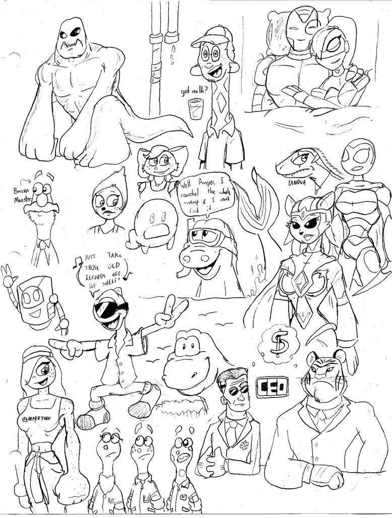 Sketch BOOM 4 by CKToonStudios