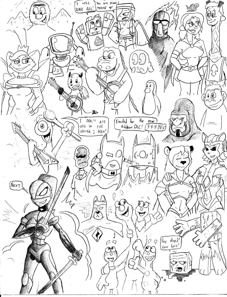 Sketch BOOM 9 by CKToonStudios