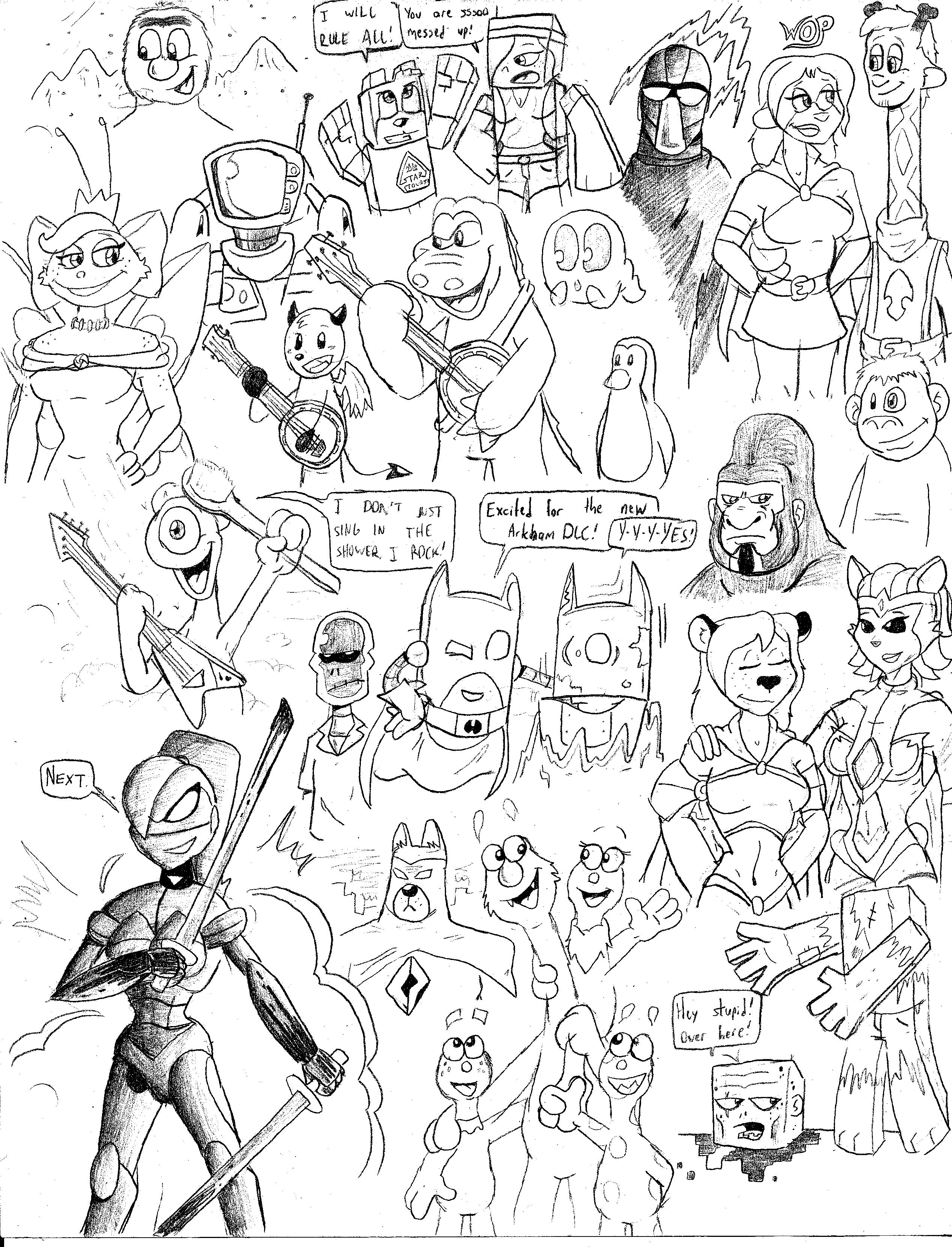 Sketch BOOM 9 by CKstudios