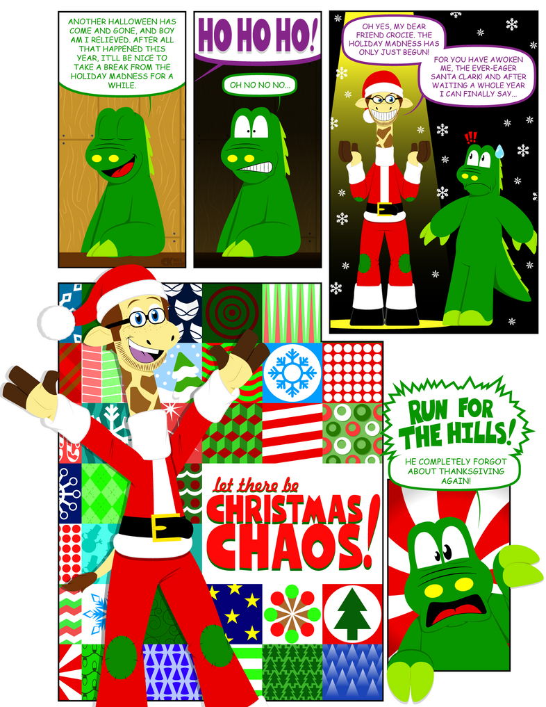 Croc\'s Swamp Gang] Christmas Chaos! by CK-was-HERE on DeviantArt