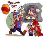 Meet Balloon Boy From FNAF 2