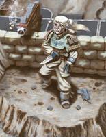 Imperial Soldier by squareko