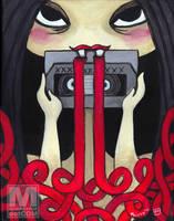 VHS Vampire by MeghanMurphy