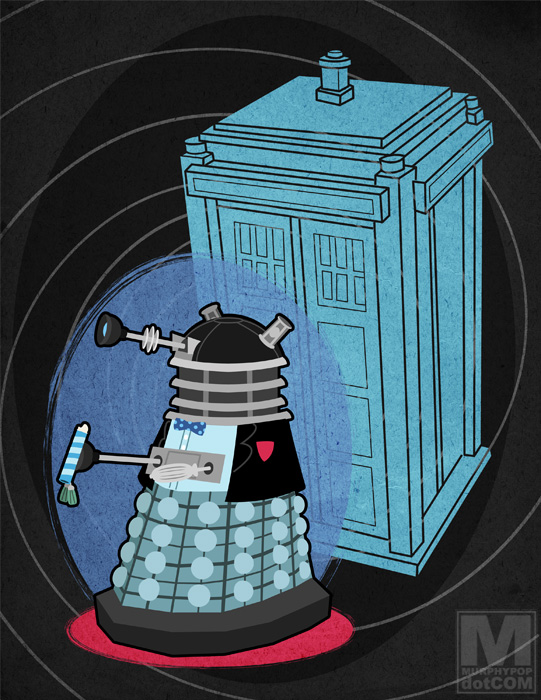 The Second Doctor Dalek by MeghanMurphy