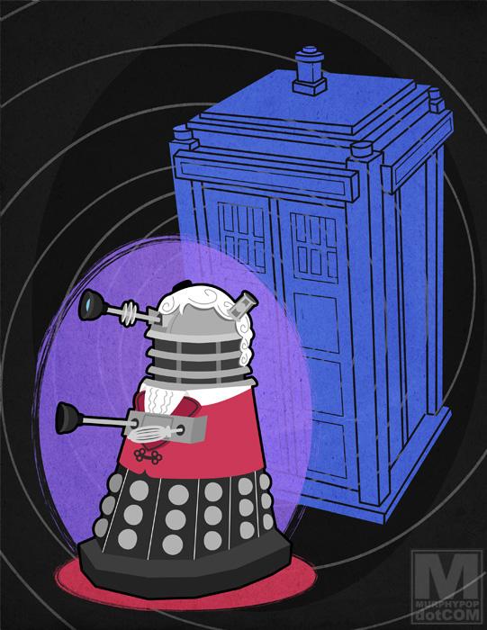 The Third Doctor Dalek by MeghanMurphy