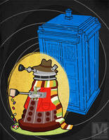 The Fourth Doctor Dalek by MeghanMurphy