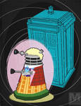 The Sixth Doctor Dalek by MeghanMurphy