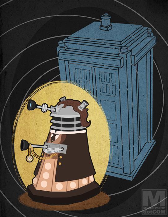 The Eighth Doctor Dalek by MeghanMurphy