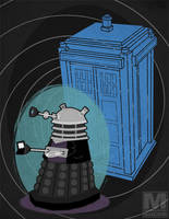 The Ninth Doctor Dalek by MeghanMurphy