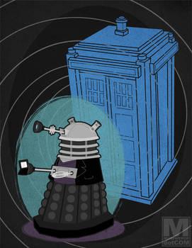 The Ninth Doctor Dalek
