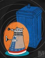 The Tenth Doctor Dalek by MeghanMurphy
