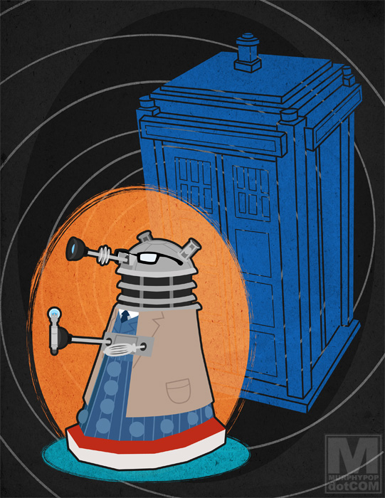 The Tenth Doctor Dalek by MeghanMurphy