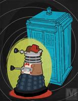 The Eleventh Doctor Dalek by MeghanMurphy