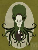 H. P. Lovecraft by MeghanMurphy