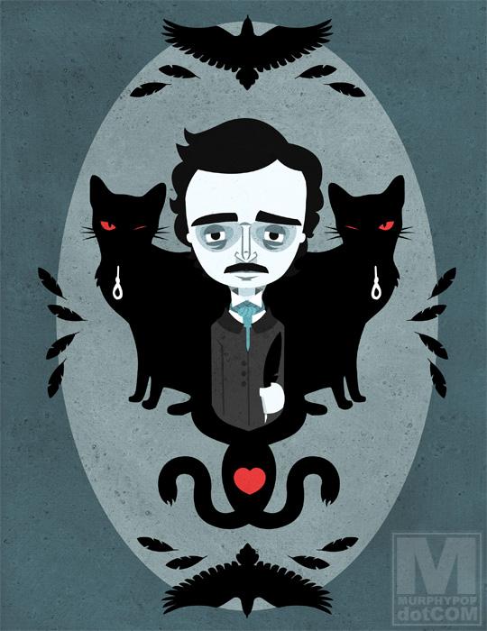 Edgar Allan Poe by MeghanMurphy