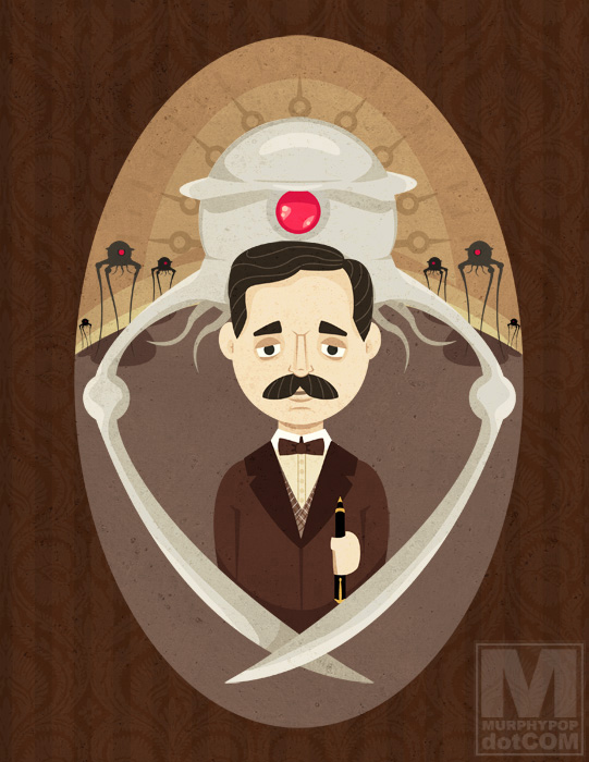 H. G. Wells by MeghanMurphy